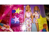 Barbie & Skipper Pyjama Party Tote Set Boxed Unopened As New Excellent Condition