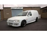 2002 FORD ESCORT VAN RS 2000 REP TURBO DIESEL SOLID NO ROT CHEAPER PX OR SWAP £1595