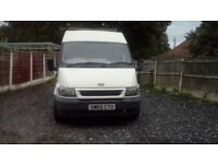 Ford tranzit van. Spares or repairs. Due to noise engine. Drives like the day it left the show room.
