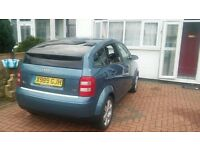 AUDI A2 VERY GOOD CONDITION LOW MILES!
