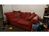 Good quality, solid timber framed, comfortable sofa needs a new home