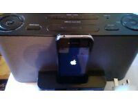 iPod Docking Station Alarm Clock/FM Radio Sony Dream Machine ICF-C1IP MK2
