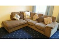 Large Harveys corner sofa