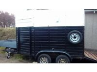 RICE double horse trailer - good conversion project