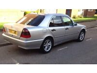 Mercedes Benz C Class 2.0 Petrol (V reg)2000 For Export or Spare