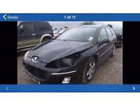 PEUGEOT 407 2.0 HDI CAR BREAKING FOR SPARES