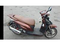 WK GTR300cc moped 65 plate