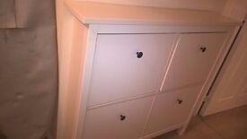 Ikea hemnes shoe storage unit