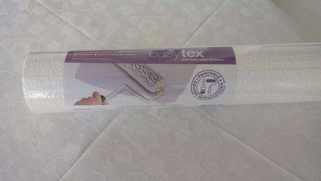 Easytex stipple trade quality wallpaper -7 rolls plus half roll