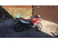 Honda Xr 125 spares or repair needs new engine