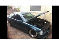 """Bmw 5x120 bbs style deep dish 17"""" wheels 8.5j front and 10j rears e36 e46"""