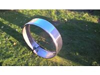 4x4 back door chrome spare wheel cover