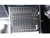 Studiomaster Session Mix 12-2R console
