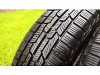 "Winter Tyres 14"" - 4 WINTER TYRES FOR CITREON C1, TOYOTA AYGO OR PEUGOT 107"