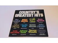 Country's Greatest Hits Vinyl Record