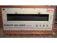 Weircliffe Bulk Eraser model 8.