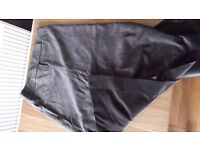ladies long velvet skirt. size 18