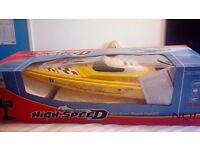 High speed radio controlled boat