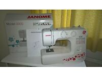JANOME 3300 SEWING MACHINE