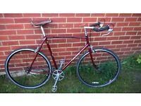 fixie, retro Carlton racing bike for sale