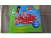(NEW) Paddling Pool from ELC 1 Ring Pool with Padded Base