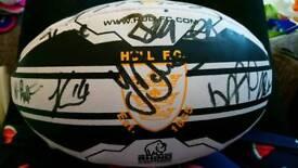Signed hull fc ball