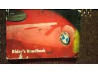 BMW RIDERS HANDBOOK