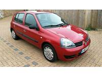 2007 Renault Clio 1.2 - Mot April 2018 - Only 84,000 miles - Ideal learner car, duel pedels.