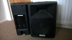 PA Speakers pair 300w each with Precision Devices Drivers