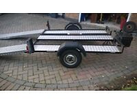 Motorbike,motorcycle,Quad Trike bike trailer. Race day trailor. Good condition