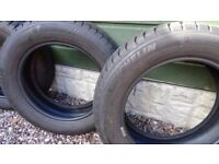 4 x Michelin Aplin Winter Tyres