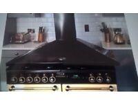 Leisure Rangemastercooker hood extraction fan LEIHDC120BCgreat condition