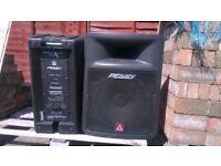 Peavey Impulse 500 PA speakers