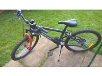 "£80 ONO - Boys 24"" Mountain Bike - Rock Rider, Orange & Black"
