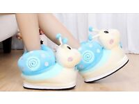 Funky snail slippers (NEW)
