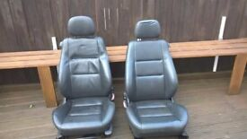 Vauxhall Corsa C Leather Seats and Door Cards