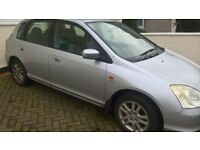 AUTOMATIC, HONDA CIVIC, 12 MONTHS MOT,NEW TYRES LEATHER INTERIOR,AIR CON,ORIGINAL CAR.