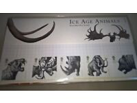 Royal Mail Mint Condition Ice Age Animals Presentation Pack Stamps