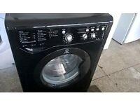 indesit black washer....7kg..digital free delivery