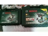 Bosch drills and drill bits big 1 also hammer drill aswell