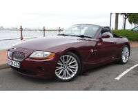 Z4 3.0 SE Roadster, 6 Speed Manual 2004 91k on Private Plate