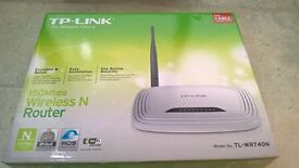 TP link wireless N router TL-WR740N