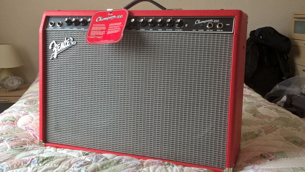 Fender Champion 100  Limited Edition Red model with footswitch    in  Southside, Glasgow   Gumtree