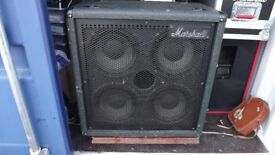 Marshall Dynamic Bass System Cabinet with 4 x 10