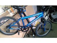 """boys Ridgeback mx20 12""""alloy framed bike 5 gears 20""""wheels"""