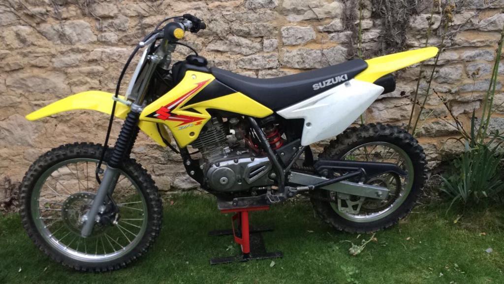 2012 Suzuki Drz 125cc motocross bike