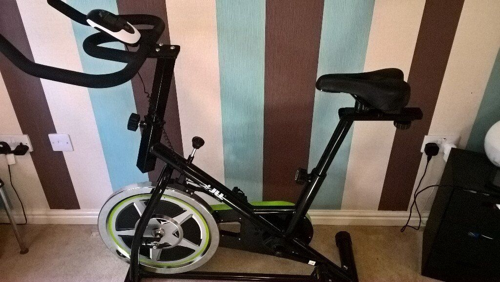 JLL Indoor Cycling Bikein Matlock, DerbyshireGumtree - JLL Indoor Cycling Bike. Comes with Instructions. Currently dismantled but can be put back together if required. Nearly New, Bought before going on holiday to lose a little weight but go to the gym instead now. Collection Only. Message for more...