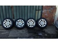 4 stunning BMW alloys with good tyres