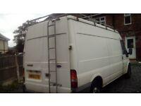 Transit van. Spates or repairs. Can drive away