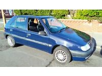 VERY LOW MILEAGE 1.4 AUTO SAXO 5 DOOR CHEAP TAX/INSURANCE POWER STEERING LONG MOT £650 PX? AUTOMATIC